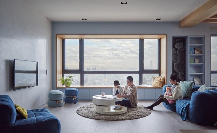 Lưu ý khi thiết kế nội thất cho nhà có trẻ nhỏ