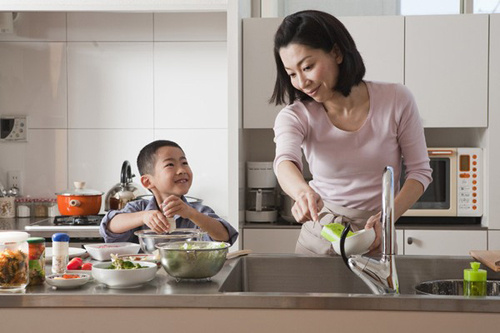 4 điều cần chú ý để phòng bếp vừa đẹp, vừa an toàn