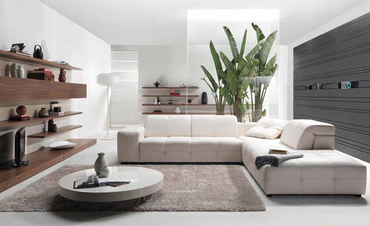 Chọn vật liệu xanh cho phòng khách