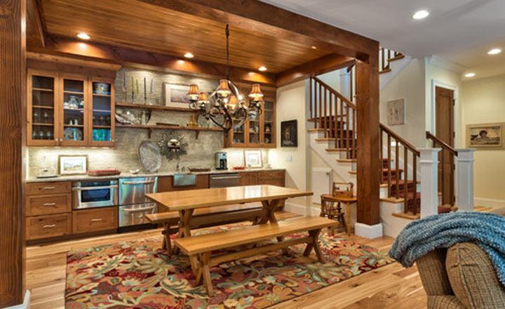 Lựa chọn nội thất theo phong cách Rustic