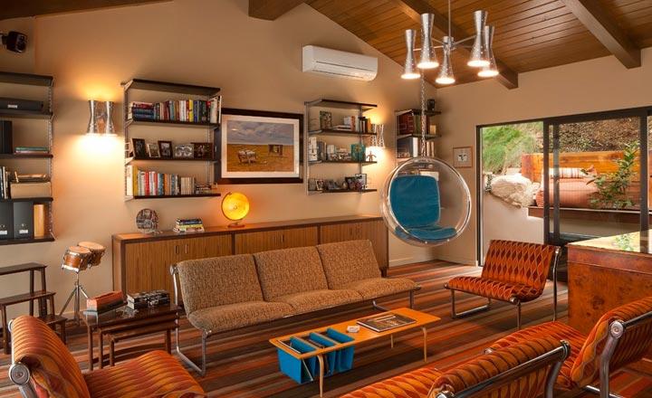 Thiết kế nhà theo phong cách Retro