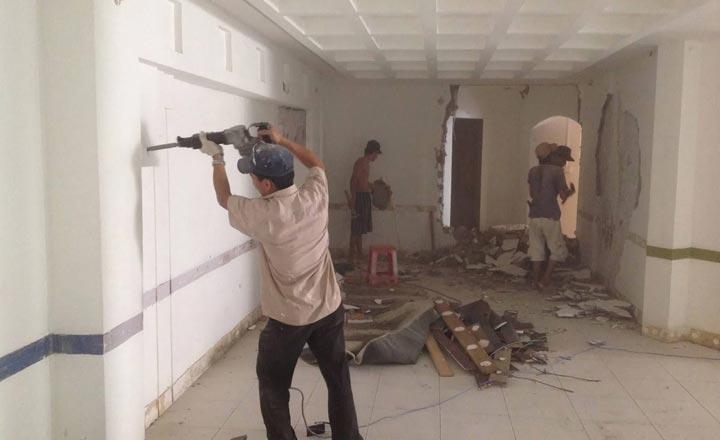 Sợ sập nhà vì quên gia cố móng